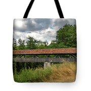 Rothenburg Covered Bridge Tote Bag