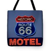 Route 66 Motel Tote Bag
