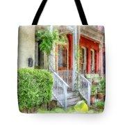 Row Houses Washington Dc Tote Bag
