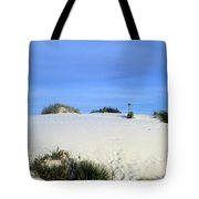 Rrippled Sand Dunes In White Sands National Monument, New Mexico - Newm500 00111 Tote Bag
