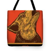 Rubino Wolf Dog Love One World Tote Bag