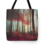 Ruby Red Evening Tote Bag
