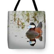 Ruddy Duck, Plumas County California Tote Bag