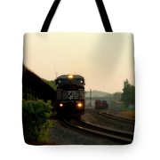Running On Schedule Tote Bag