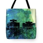 Rush Watercolor Tote Bag
