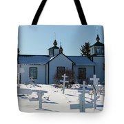 Russian Orthodox Church Ninilchik Alaska Tote Bag