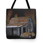 Rusty Autumn Colours Tote Bag by Richard Le Page