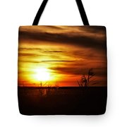 Rusty Sunset Tote Bag