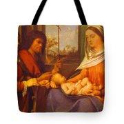 Sacred Conversation 1505 Tote Bag