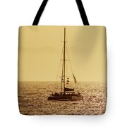Sailing In The Sunlight Tote Bag