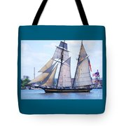 Sailing With Pride Tote Bag