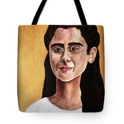 Saint Agnes Tote Bag