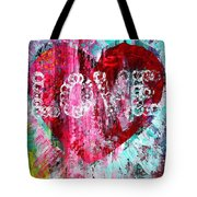 Saint Valentines Day Tote Bag