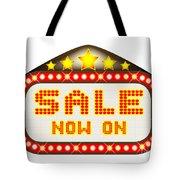 Sale Theatre Marquee Tote Bag