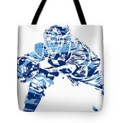 Salvador Perez Kansas City Royals Pixel Art 1 Tote Bag