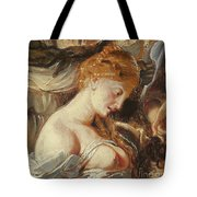 Samson And Delilah, Detail Of Delilah Tote Bag