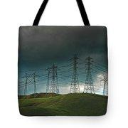 San Joaquin Valley Power Grid Tote Bag