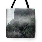 San Marino At Dawn Tote Bag by Jaroslaw Blaminsky