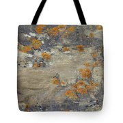 Sand, Charcoal, And Rust Tote Bag