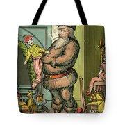 Santa Toys Tote Bag