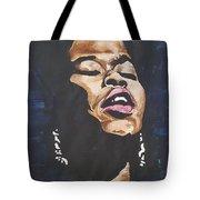 Sarah Vaughan Tote Bag