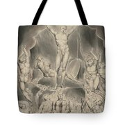 Satan Calling Up His Legions Tote Bag
