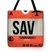 Sav Savannah Luggage Tag I Tote Bag