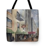 Savannah River Street Tote Bag