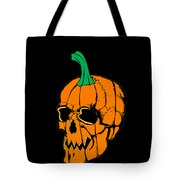 Scary Pregnant Halloween Design  Tote Bag