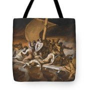 Scene Of Cannibalism For The Raft Of The Medusa Tote Bag
