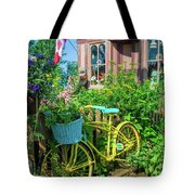 Scenic Garden And Antiques Store Tote Bag