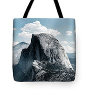 Scenic View Of Rock Formations, Half Tote Bag