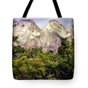 Scenic Zion - Mount Carmel Highway Drive 4 Tote Bag