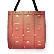 School Lockers Tote Bag