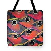 School Of Eyes Tote Bag