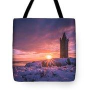 Scrabo Winter Sunrise Tote Bag