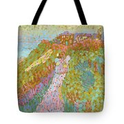 Sea And Dunes In Domburg Tote Bag