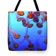 Sea Nettle Jellies Tote Bag