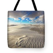 Sea Of Sand - Endless Dunes At White Sands New Mexico Tote Bag