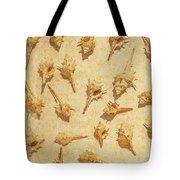 Sea Shell Scroll Tote Bag