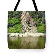 Sea Stack At Ruby Beach  Tote Bag