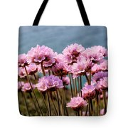 Sea Thrift Tote Bag