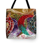 Sea Turtle Love Tote Bag