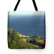 Sea View Pond Tote Bag
