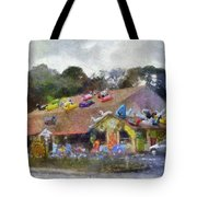 Seaberry Surf The Shops Of Cape Cod Massachusetts Pa Tote Bag