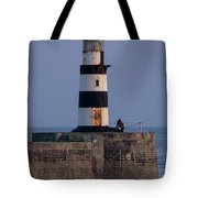 Seaham Lighthouse Tote Bag