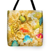 Seaside Simulation Tote Bag