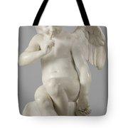 Seated Cupid, 1757 Marble Tote Bag