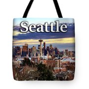 Seattle From Kerry Park Tote Bag
