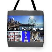 Seattle Washington Waterfront 02 Tote Bag